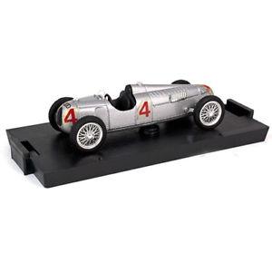 【送料無料】模型車 モデルカー スポーツカーモデルオートユニオンタイプ#brumm models 1936 auto union type c 4 r38