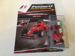 【送料無料】模型車 モデルカー スポーツカーネットワークフェラーリミカサロスケールコレクションixo altaya f1 ferrari f399 mika salo  143 scale f1 collection 33