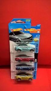 【送料無料】模型車 モデルカー スポーツカーホットホイールパックロングショートカード
