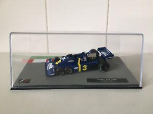 【送料無料】模型車 モデルカー スポーツカーパニーニティレルスケールコレクションスペシャルpanini f1 1976 tyrrell p34  143 scale f1 collection 33 specials