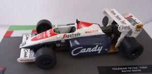 【送料無料】模型車 モデルカー スポーツカーフォーミュラカーコレクションアイルトンセナf1 formula 1 car collection 8 1984 toleman tg184 ayrton senna