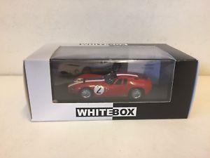 【送料無料】模型車 モデルカー スポーツカーマセラティマセラティルマンスケールwhitebox  1964 maserati tipo 1513 le mans  143 scale wbs044