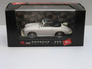 【送料無料】模型車 モデルカー スポーツカーポルシェbrumm r198 porsche 356 tedesca poliza boxed