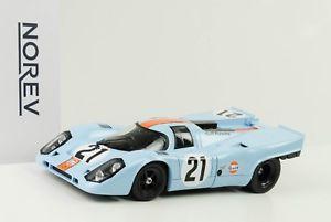 【送料無料】模型車 モデルカー スポーツカーポルシェ#ルマンロドリゲス1970 porsche 917k 21 gulf 24 h le mans rodriguez kinnunen 118 norev
