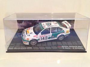 【送料無料】模型車 モデルカー スポーツカーシュコダラリーモンテカルロスケールskoda octavia wrc dauriol dgiraudet rally monte carlo 2003 143 scale