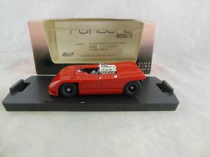 【送料無料】模型車 モデルカー スポーツカーベストモデルポルシェbest model 9031 porsche 9083 prova in red mib
