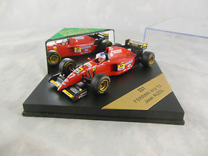 【送料無料】模型車 モデルカー スポーツカーフォーミュラオニキスフェラーリジャンアレジレーシングスケールheritage formula 1 onyx 237 ferrari 412 t2 jean alesi racing 27 scale 143
