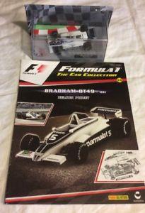 【送料無料】模型車 モデルカー スポーツカーパニーニコレクションブラバムスケールネルソンピケpanini f1 collection 1981 brabham bt49  143scale nelson piquet issue 14