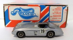 【送料無料】模型車 モデルカー スポーツカースケールメルセデスベンツレフルマンレコードrecord 143 scale resin rr3 mercedes benz 300 slr le mans 1955