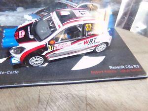 【送料無料】模型車 モデルカー スポーツカールノークリオマウントカルロミニチュアコレクションrenault clio r3 mounted carlo 2010 car miniature 143 collection