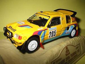【送料無料】模型車 モデルカー スポーツカープジョーターボダカールnorev peugeot 205 turbo 16 205 dakar 1987 au 143