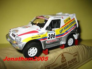 【送料無料】模型車 モデルカー スポーツカーパジェロ#ダカールnorev mitsubishi pajero 206 dakar 1998 au 143