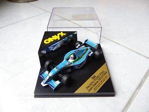 【送料無料】模型車 モデルカー スポーツカーパシフィックフォード#オニキスフォーミュラpacific ford pr02 denis deltraz 16 onyx 254 143 1995 f1 formula 1