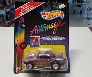 1989 Mattel Hot Wheels Automagic II WIND SPLITTER Color Racers MOC
