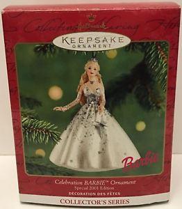 【送料無料】模型車 モデルカー スポーツカークリスマスオーナメントセレブレーションバービーtas032593 2001 hallmark keepsake christmas ornament celebration barbie