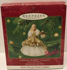 【送料無料】模型車 モデルカー スポーツカークリスマスオーナメントセレブレーションバービーtas032592 2000 hallmark keepsake christmas ornament celebration barbie
