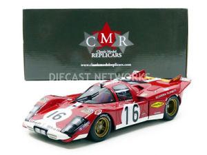 【送料無料】模型車 モデルカー スポーツカーフェラーリルマンcmr 118 ferrari 512 s 24h du mans 1970 cmr021