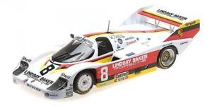 【送料無料】模型車 モデルカー スポーツカーポルシェヨーストレーシングキロキャラセラヨハンソンporsche 956k joest racing 8 1000km kyalami 1983 wollek serra johansson