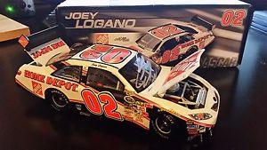 【送料無料】模型車 モデルカー スポーツカージョイ#アクションレーシングカムリサインホームデポjoey logano 02 action racing 2008 camry autographed 124 the home depot