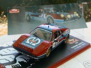 【送料無料】模型車 モデルカー スポーツカーフェラーリモンテカルロラリーferrari 308 gtb rallye monte carlo 1982 andruet biche