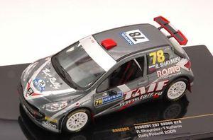 【送料無料】模型車 モデルカー スポーツカープジョーフィンランドネットワークモデルpeugeot 207 s2000 40th finland 2009 shaymievkafarov 143 ixo ram394 model