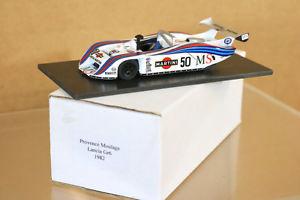 【送料無料】模型車 モデルカー スポーツカーエクスアンプロヴァンスムラージュシルバーストーンランチアマティーニprovence moulage silverstone 1982 lancia gr6 martini car 50 alboretto patrese1st