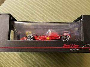 【送料無料】模型車 モデルカー スポーツカー#チームブラジルredline f2007 6 winner brazil