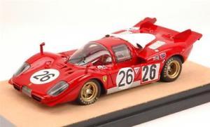 【送料無料】模型車 モデルカー スポーツカーフェラーリデイトナferrari 512 s n26 acciddaytona 1970 vaccarellagiunti 143 tecnomodel tmdmi53b