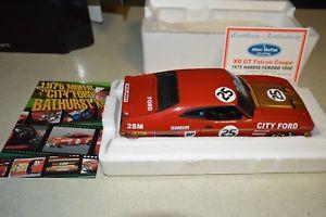 【送料無料】模型車 モデルカー スポーツカーアランモファットフォードファルコンバサーストビアンテallan mat ford xb gt falcon bathurst 1975 bianteautoart 118