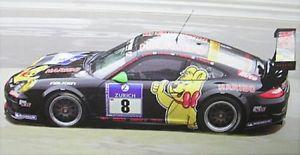【送料無料】模型車 モデルカー スポーツカーポルシェグアテマラporsche 997 gt3 r 8 24h nrnburgring 2011
