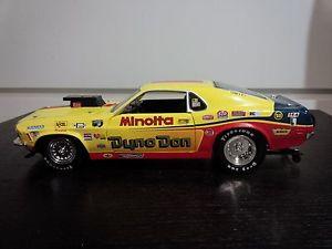 【送料無料】模型車 モデルカー スポーツカームスタングドン#1970 mustang dragster 034;dyno don034; nicholson limited edition 1072 of 2004 118