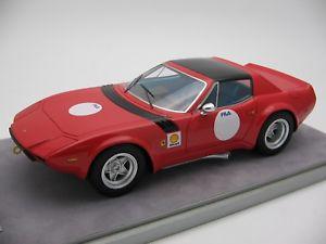 【送料無料】模型車 モデルカー スポーツカースケールフェラーリプレスレッド118 scale tecnomodel ferrari 365 gtb4 press red 1975tm1894b