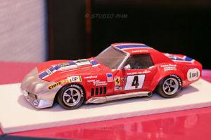 【送料無料】模型車 モデルカー スポーツカーシボレーコルベットルマンハインツジョンソンアリーナchevrolet corvette n4 nart15 le mans 1972 heinz johnson 143 arena