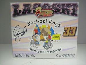 【送料無料】模型車 モデルカー スポーツカースケールダニーマイケルロススプリントカー118 scale ramp;r danny lasoski michael ross memorial foundation sprint car