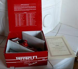 【送料無料】模型車 モデルカー スポーツカーフェラーリニキラウダ116 polistil ferrari 312 b3, bnib, niki lauda, rarity, with certificate n3221
