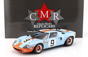 【送料無料】模型車 モデルカー スポーツカーフォード#ルマンロドリゲスビアンキford gt 40 mk i gulf 9 winner 24 h lemans 1968 rodriguez, bianchi 112 cmr