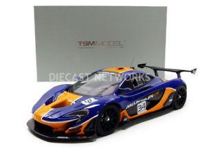 【送料無料】模型車 モデルカー スポーツカーミニチュアマクラーレンtruescale miniatures 118 mclaren p1 gtr 2015 tsm181008r