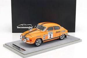 【送料無料】模型車 モデルカー スポーツカー#ラリーsaab 96 v4 2 2nd lombard rac rally 1974 blomqvist, sylvan 118 tecnomodel