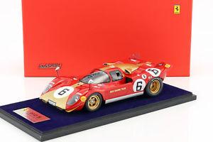 【送料無料】模型車 モデルカー スポーツカーフェラーリ#キロモンツァロースferrari 512 s 6 1000km monza 1970 loos, pesch 118 looksmart