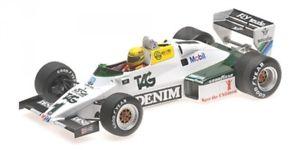 【送料無料】模型車 モデルカー スポーツカーウィリアムズフォードドニントンパークテストアイルトンwilliams ford fw08c 1 donington park test formula 1 18th july 1983 ayrton