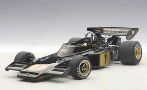 【送料無料】模型車 モデルカー スポーツカーロータスフォーミュラエマーソンフィッティパルディlotus 72e 1 formula 1 1973 emerson fittipaldi