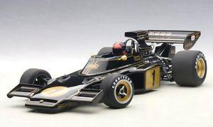 【送料無料】模型車 モデルカー スポーツカーロータスフォーミュラドライバーエマーソンフィッティパルディlotus 72e 1 formula 1 1973 with driver figurine fitted emerson fittipaldi