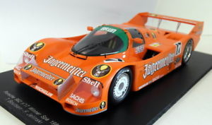 【送料無料】模型車 モデルカー スポーツカースパークスケールポルシェ#スパspark 118 scale resin 18s090 porsche 962 17 winner spa 1986 jagermeister