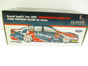 【送料無料】模型車 モデルカー スポーツカーフォードレーシングファルコンラッセル#スケールford ba racing falcon 2004 russell ingall 98 sbr  118 scale18171