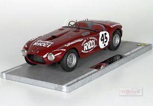 【送料無料】模型車 モデルカー スポーツカーフェラーリスパイダーラリーカレラパナメリカーナferrari 340 spider vignale rally iv carrera panamericana 1953 bbr 118 bbrc1823