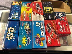 【送料無料】模型車 モデルカー スポーツカーアクショングッズnascar action collectibles limited edition 124 lot of 9 w boxes earnhardt