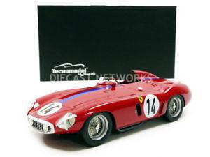 【送料無料】模型車 モデルカー スポーツカーミトスフェラーリモンツァルマンtecnomodel mythos 118 ferrari 750 monza le mans 1955 tm1846a