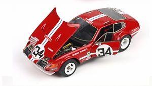 【送料無料】模型車 モデルカー スポーツカーフェラーリデイトナルマン1972 ferrari 365 gtb4 daytona 24h le mans