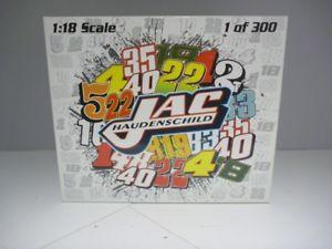 【送料無料】模型車 モデルカー スポーツカースケールカースプリントカーホール118 scale ramp;r jac haudenschild hall of fame car sprint car