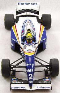 【送料無料】模型車 モデルカー スポーツカーアイルトンセナルノーフルカラーリング118 ayrton senna 1994 renault fw16 full livery a
